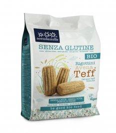 Biscotti Rigottini Avena e Teff - Senza Glutine
