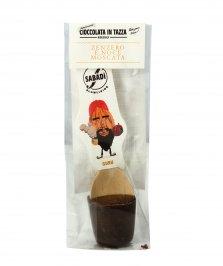 Cioccolata in Tazza - Guru Extrafondente con Zenzero e Noce Moscata