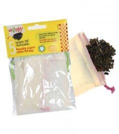Sacchetti Riutilizzabili in Cotone Bio per Tè e Tisane