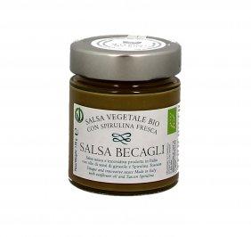 Salsa Vegetale con Spirulina Toscana Bio