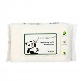 Salviette Detergenti Biodegradabili in Bambù