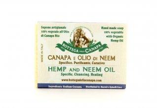 Sapone Artigianale Canapa e Olio di Neem