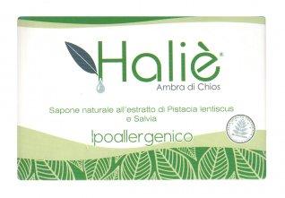 Sapone Naturale all'Estratto di Pistacia Lentiscus e Salvia