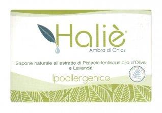 Sapone Naturale all'Estratto di Pistacia Lentiscus, Olio d'Oliva e Lavanda