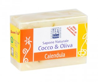Sapone Naturale Cocco & Oliva - Calendula