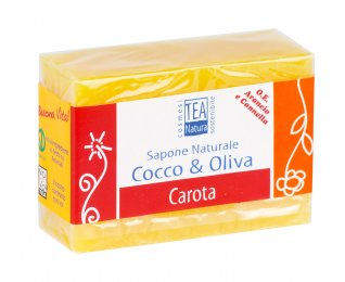 Sapone Naturale Cocco & Oliva - Carota