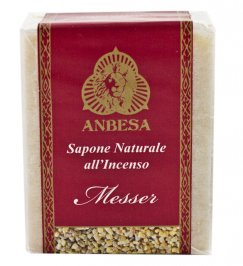 Sapone Naturale all'Incenso Messer