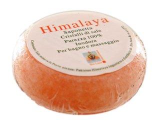 Saponetta Tonda ai Cristalli di Sale Himalayano