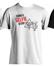 T-Shirt - Sono il Selfie di Dio Taglia XL