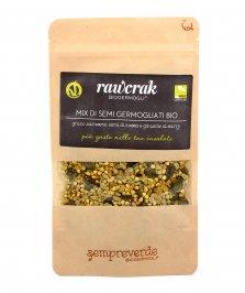 Mix di Semi Germogliati Bio con Grano Saraceno, Zucca e Curry