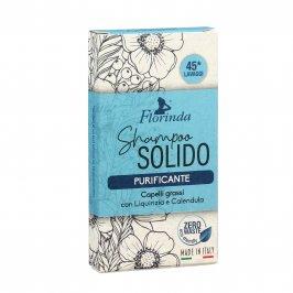 Shampoo Solido Purificante per Capelli Grassi