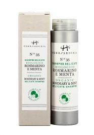 Shampoo Delicato Biologico Rosmarino e Menta N°35