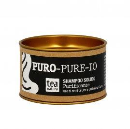 """Shampoo Solido """"Puro-Pure-Io"""" per Capelli Grassi e Impuri"""
