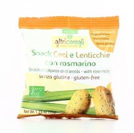 AltriCereali - Snack con Ceci, Lenticchie e Rosmarino Bio