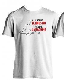 T-Shirt - Il Sonno dei Mostri Genera la Ragione Taglia M