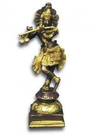 Statua Krishna con Flauto