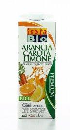 Succo di Arancia Carota e Limone