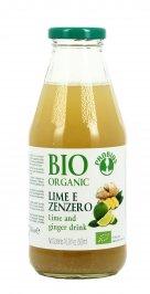 Succo Biologico Lime e Zenzero