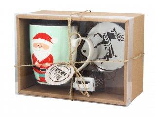 Tazza Babbo Natale con Grattugia e Filtro