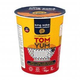 "Ramen Noodles di Riso in Zuppa Piccante ""Tom Yum"""