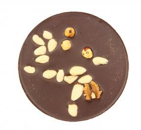 Torta Cioccolato Extra Fondente con Noci, Mandorle e Nocciole