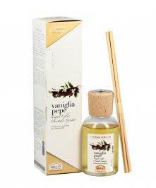 Essenza Vaniglia Pepe per l'Ambiente Bastoncini aromatici 250 ml.