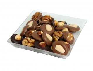 Vassoio con Bottoni di Cioccolata Misti