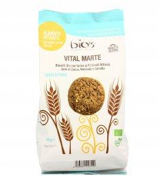 Vital Marte - Biscotti Bio 9 Cerali, Zucca, Nocciole e Carruba