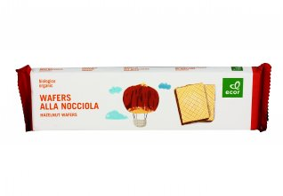 Wafers alla Nocciola Biologici