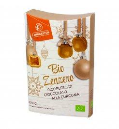 Zenzero Bio Ricoperto di Cioccolato alla Curcuma
