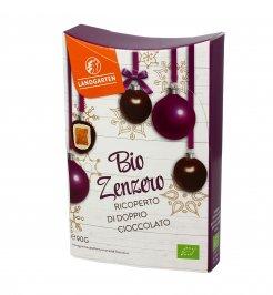 Zenzero Bio Ricoperto con Doppio Cioccolato