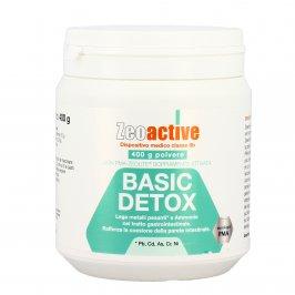 Zeolite Basic Detox in Polvere - Detossinante Contro Metalli Pesanti - Zeoactive® 400 g