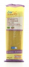 Spaghetti ai 3 Cereali Mais, Riso e Grano Saraceno Senza Glutine
