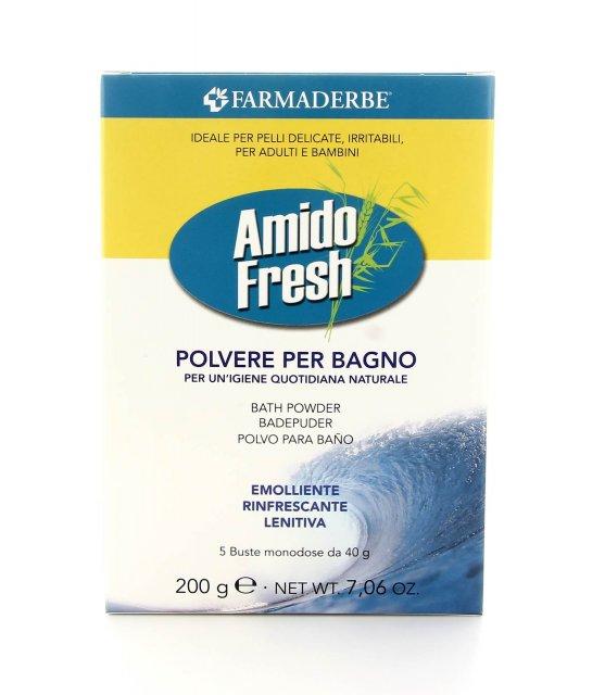 Amido Fresh - Polvere per Bagno Monodose - Farmaderbe