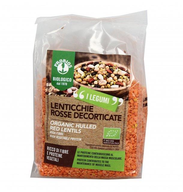 lenticchie rosse decorticate biologiche - probios - Cuscino Con Lenticchie