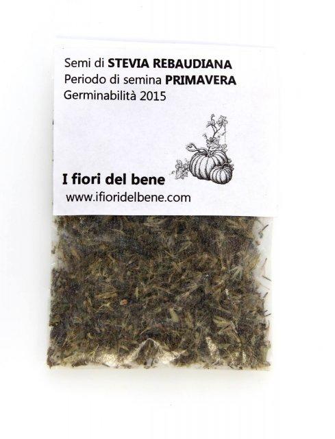 Semi di stevia rebaudiana i fiori del bene for Semi di fiori