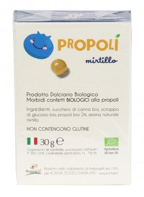 Con propoli italiana biologica e senza glutine
