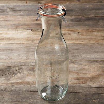 Bottiglia In Vetro Weck Con Coperchio