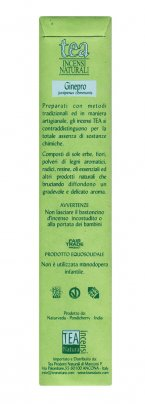 Ginepro - Incenso Naturale - Bastoncini Juniperus communis