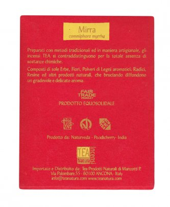 Mirra - Incenso Naturale