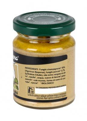 Crema di Funghi Crema vegetale spalmabile biologica
