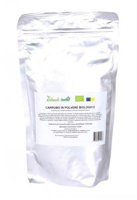 Carruba in Polvere Bio L'alternativa al cacao, ricca di fibre