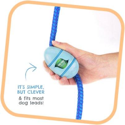 Portasacchetti Con 15 Sacchetti - Blu