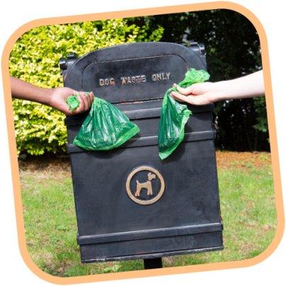 Sacchetti di Ricambio Biodegradabili per Cani - 60 Pezzi