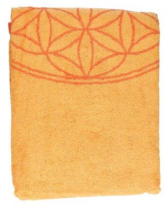 Telo/Asciugamano da Mare Giallo