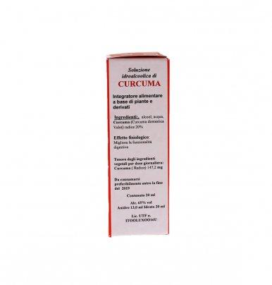 Curcuma - TS 20 - Estratto Idroalcolico