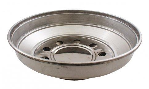 Pentola Fornetto con Occhio Alluminio Puro - 35Cm