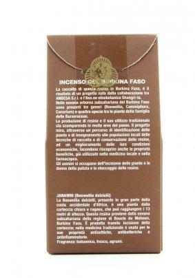 Incenso del Burkina Faso - Janawhi 70 g