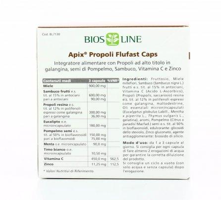 Apix Flufast Caps - Difese Immunitarie
