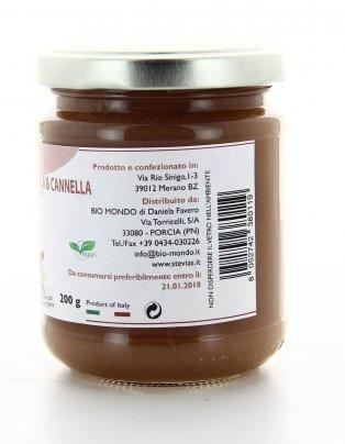 Confettura Mela e Cannella con Estratto di Stevia